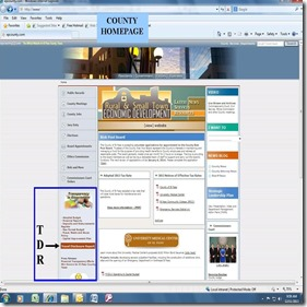 County Web Page