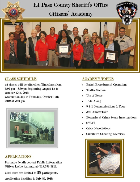 Sheriffs News