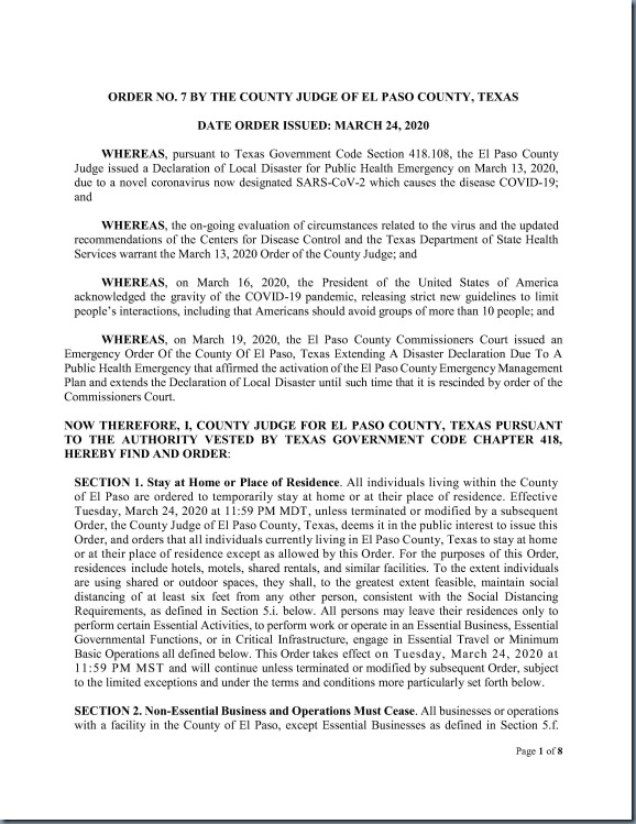Order No. 7 County Judge Stay Home Work Safe Order_1