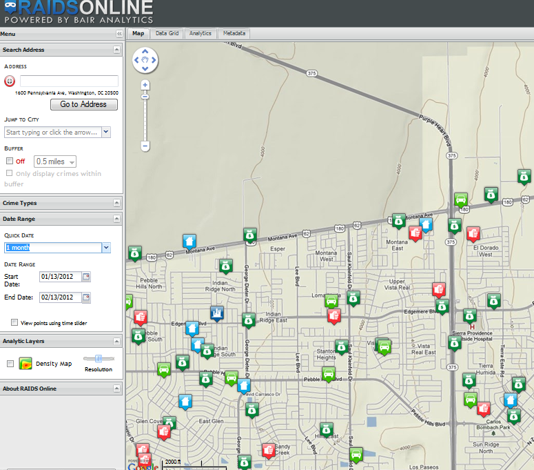 79915 Zip Code Map.El Paso County Sheriff S Office Releases Crime Map For Public Use