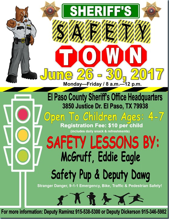safety town 2017
