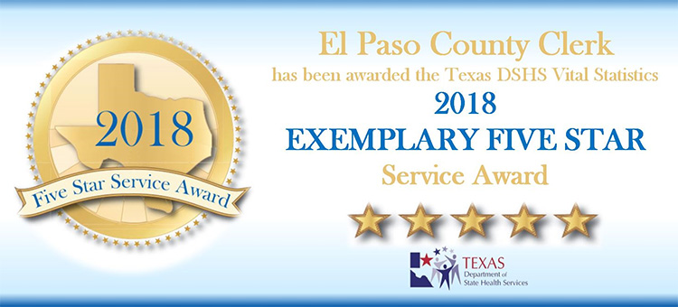 County of El Paso Texas - County Clerk