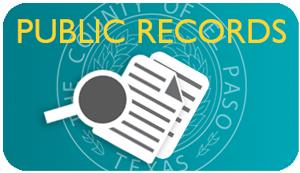 County of El Paso Texas - Public Records